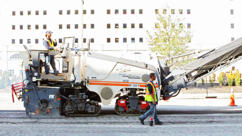 All County Asphalt Milling machine -